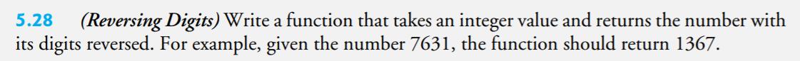 5.28 - reverse integer
